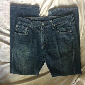 Levi's Jeans - Levi's 527 slim fit boot cut 33/30